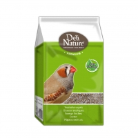 Корм для вьюрков, зябликов, амадин Deli Nature Premium Foreign Finches - 1 кг